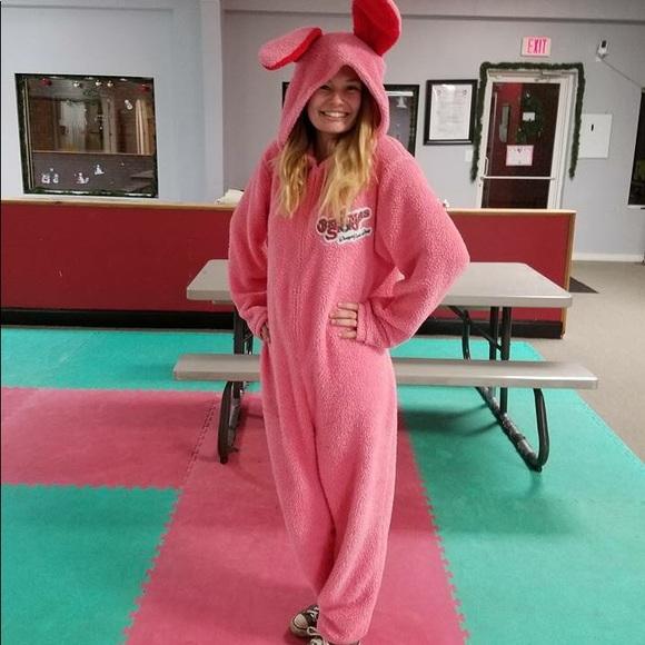 a christmas story bunny onsie - A Christmas Story Bunny